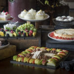 dessert bar setting for private event at The Mill in Hershey