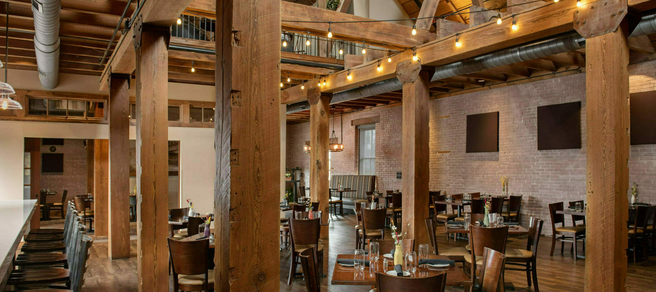 Third Floor Dining Space at The Mill in Hershey
